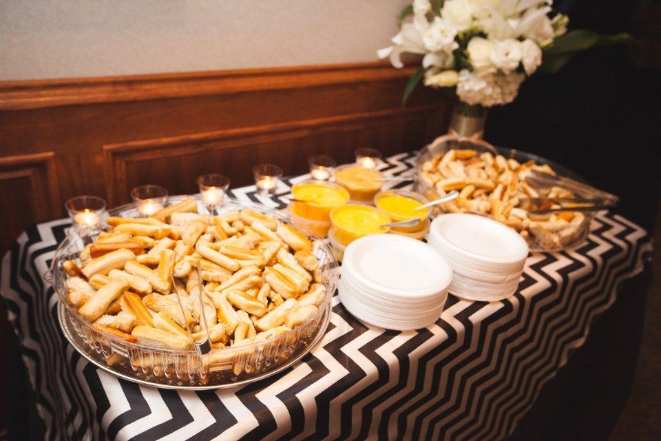 Late Night Snacks for Wedding Day www.karenshoufler.com