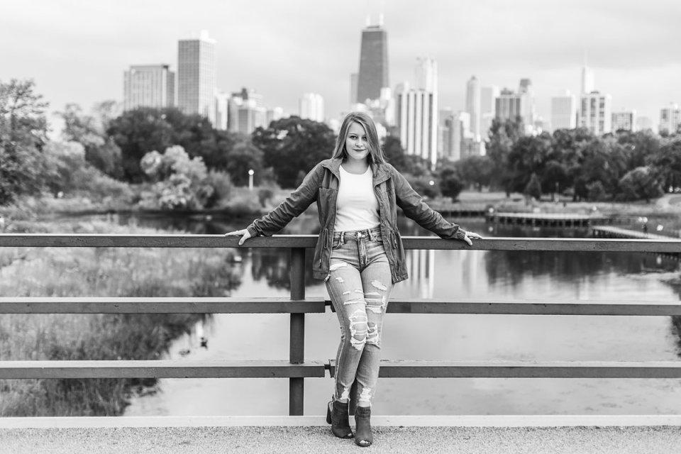 Chicago Lincoln Park Nature Boardwalk Skyline Photos