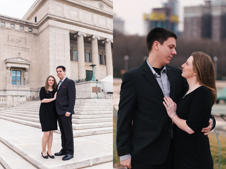 Downtown Chicago Field Museum Engagement | www.karenshoufler.com