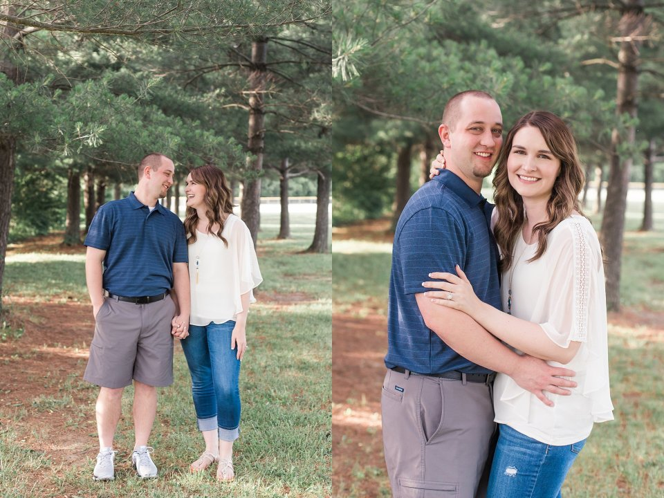 Engagement photos in Petersburg