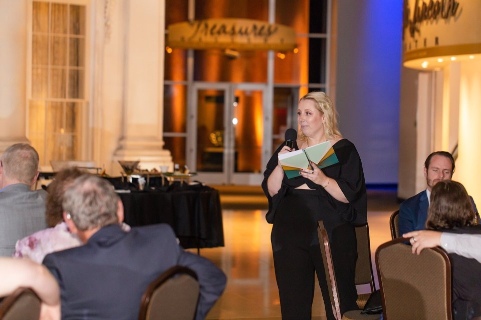 Best Man Speech at Lincoln Museum Wedding in Springfield