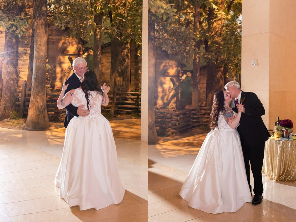 Father Daughter Dance at Lincoln Museum in Springfield by Karen Shoufler