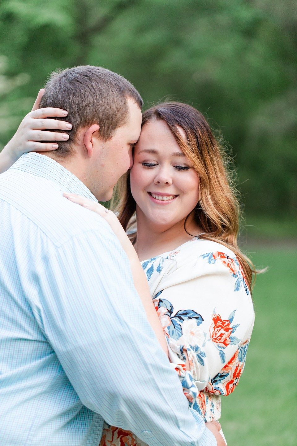 Allerton Park Spring Engagement Session in Monticello, Illinois by Karen Shoufler Photography