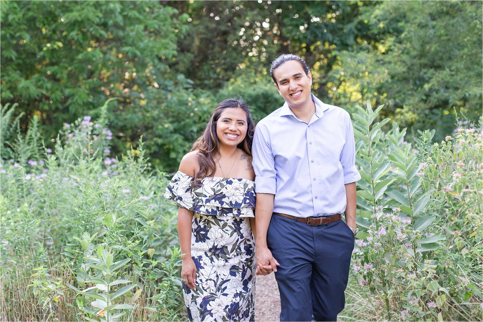 Cute and cuddly engagement session at Montrose Point Bird Sanctuary by Karen Shoufler Photography