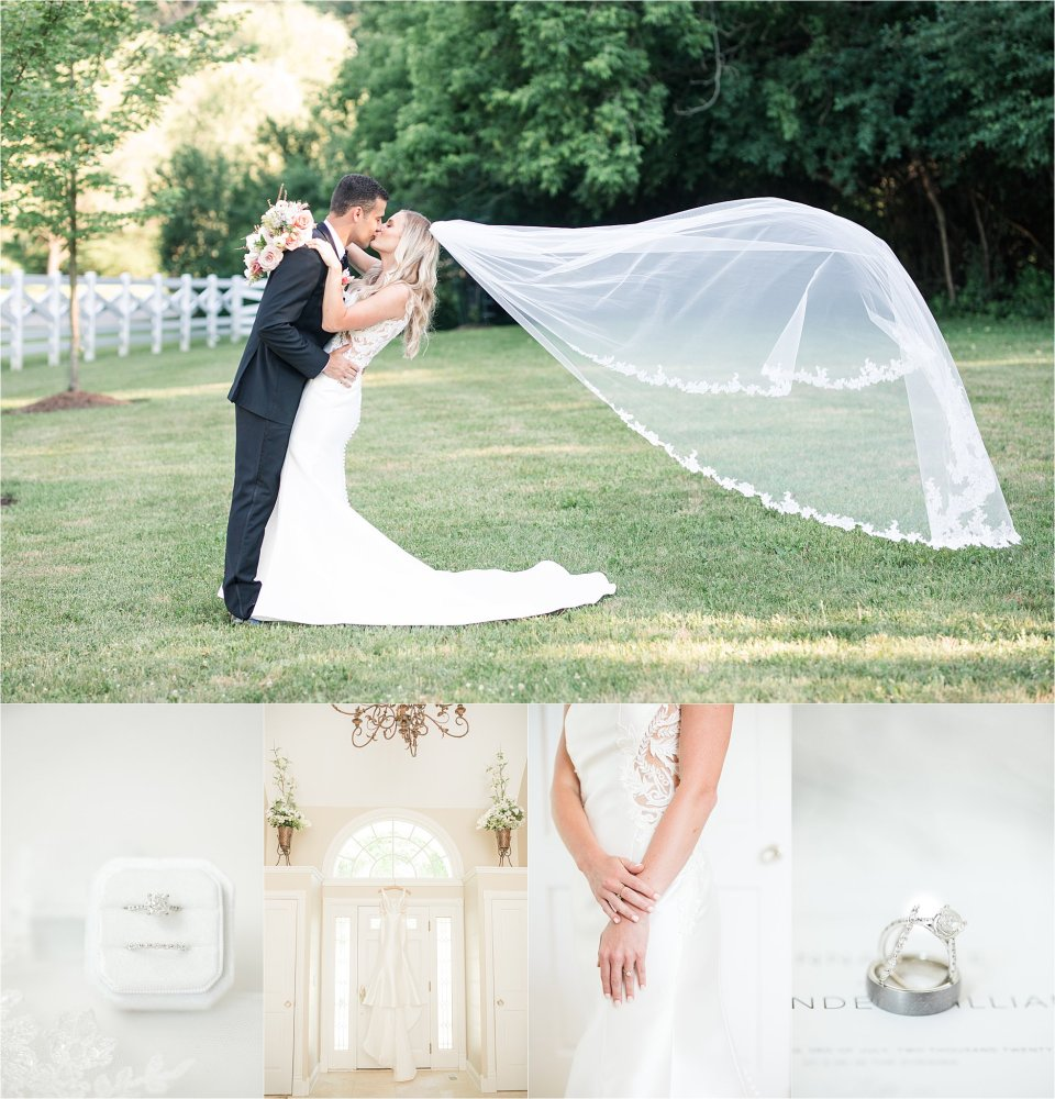 Barrington Hills Intimate Backyard Wedding