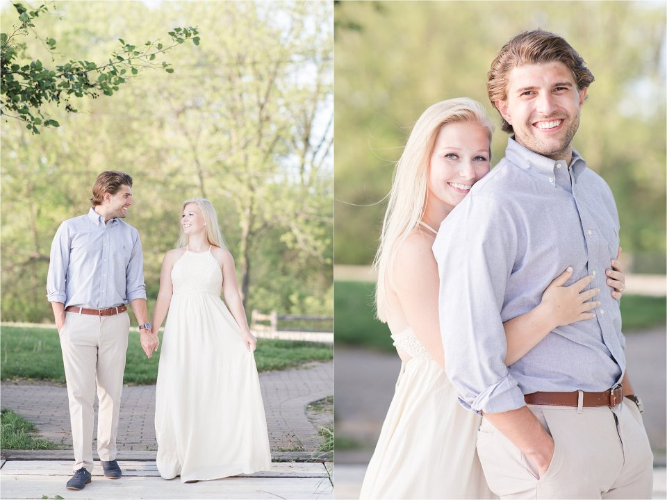 Lake Geneva summer engagement session
