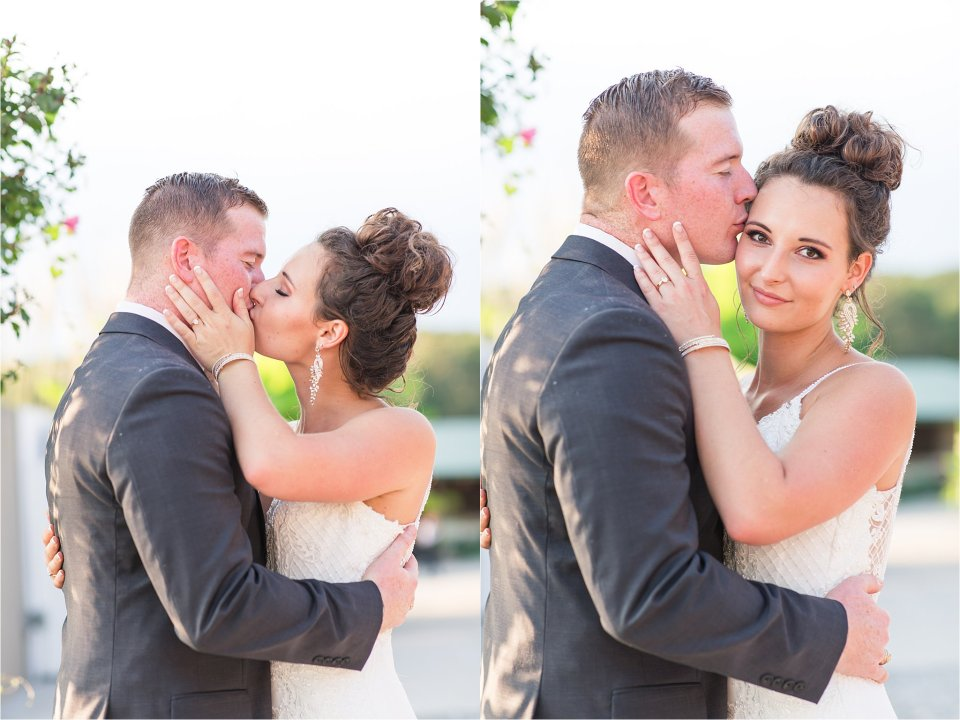 Bride and groom portraits at Egyptian Hills Resort