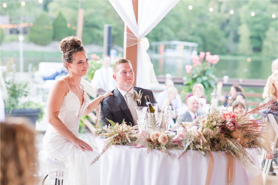 Maid of honor speech at Egyptian Hills Resort wedding