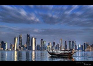 doha_sky_line_by_eljudie