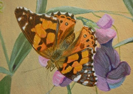 Butterfly step 4 © 2014 Karen A Johnson