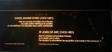 Joan of arc sign © 2014 Karen A. Johnson