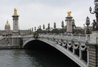 Pont Alexandre II © 2014 Karen A Johnson