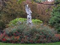 Winged statue © 2014 Karen A. Johnson