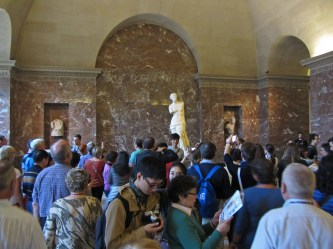 Venus de Milo crowd © 2014 Karen A. Johnson