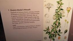 Queen Meda's Wreath sign © 2015 Karen A Johnson