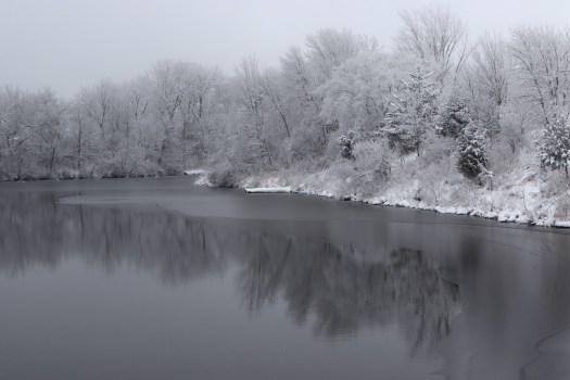 Frosty reflections © 2015 Karen A. Johnson