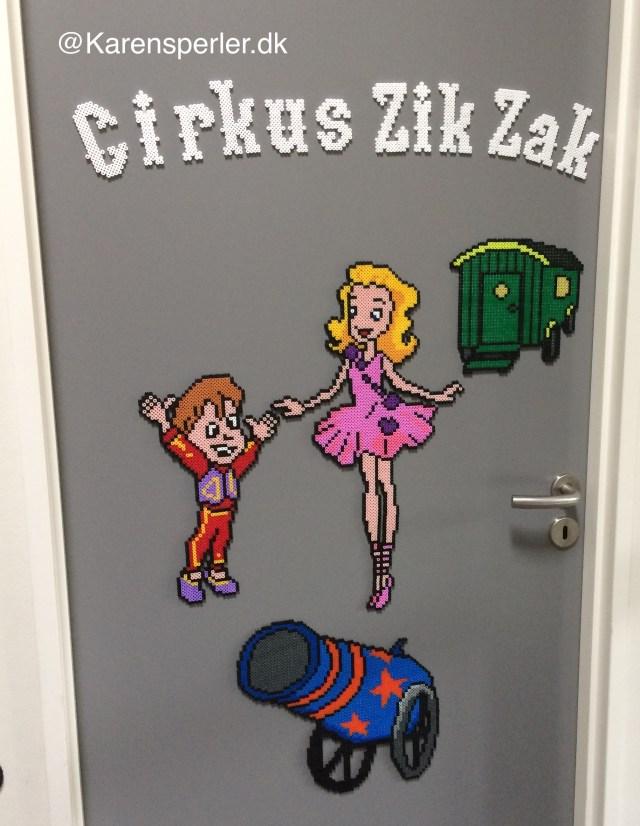 Cirkus Zik Zak i Hama perler