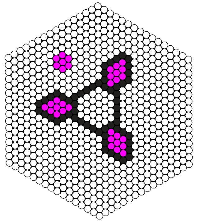 Fidgetspinner mønster