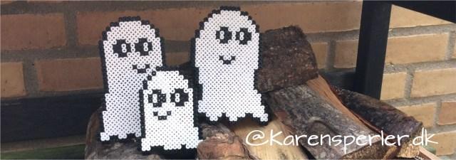 Halloween spøgelser hama perler