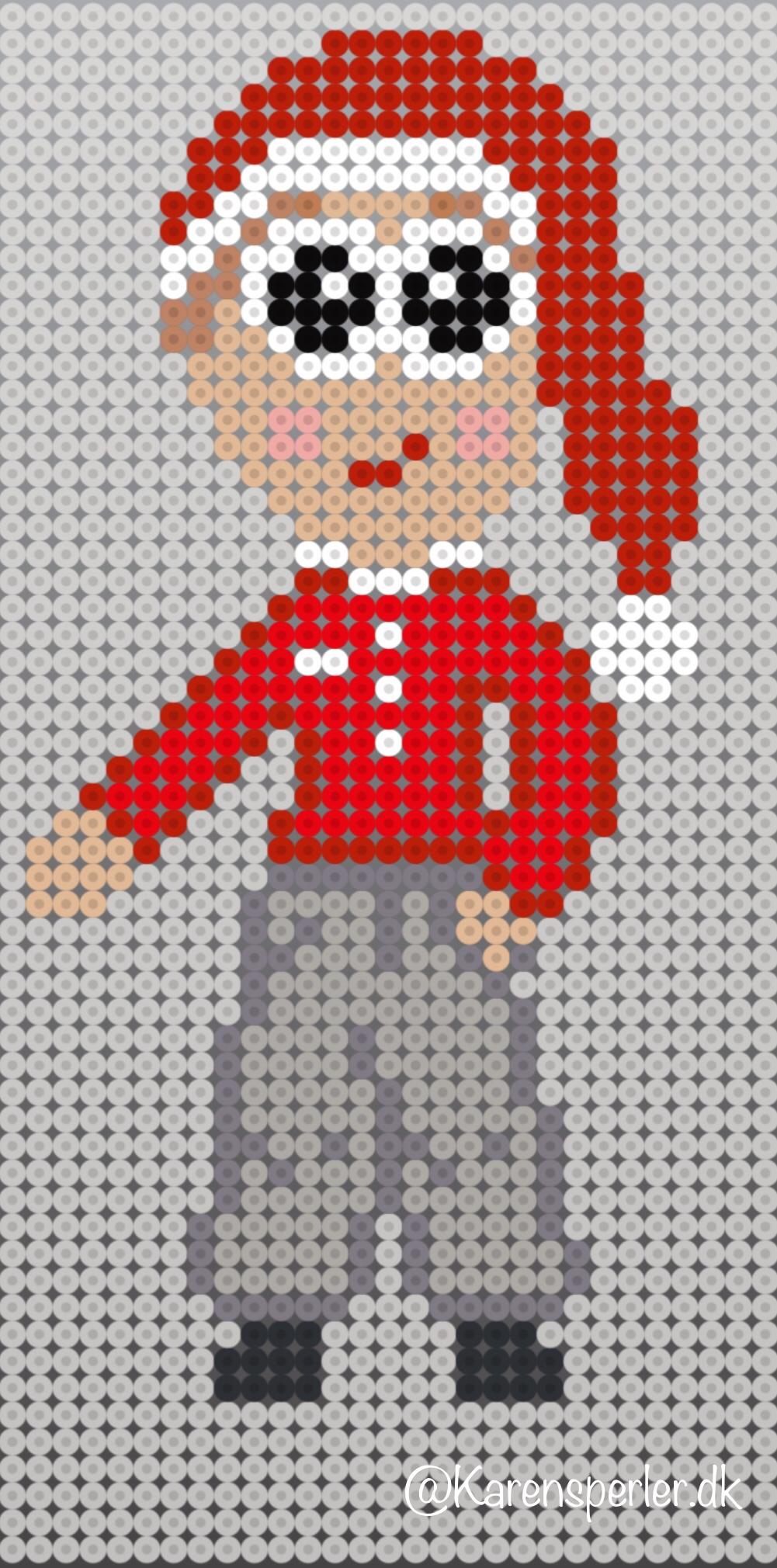 hama perler mønstre jul