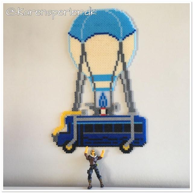Battle bus Fortnite perler