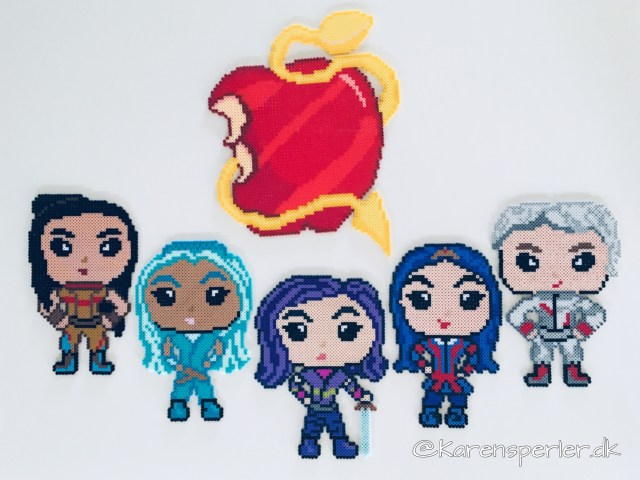 Disney Descendants perler
