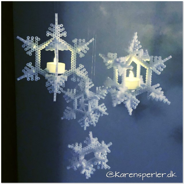 3d snefnug i artkal perler