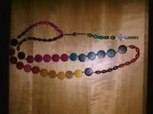 Rainbow Rosary (sold)