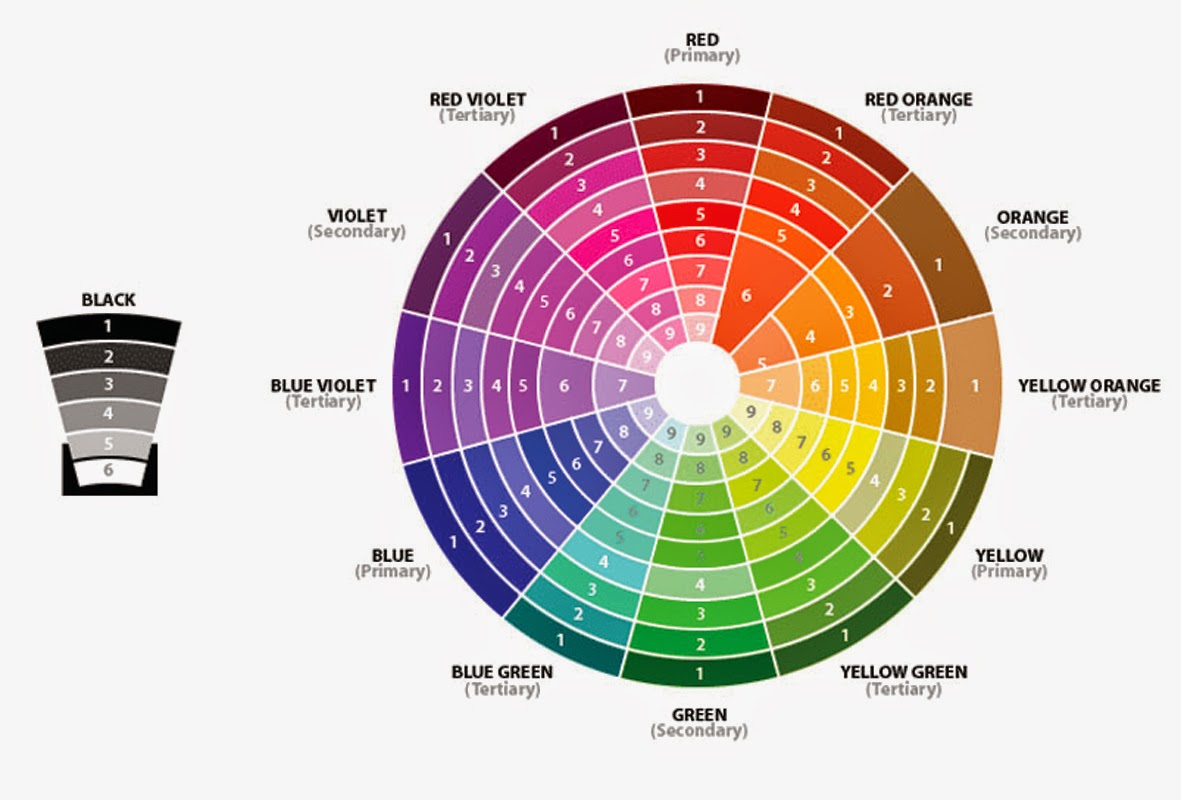 Expanded Color Wheel 8 17