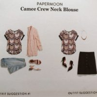 Camee Crew Neck Outfit Suggestions