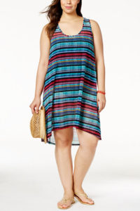 Macy's Profile by Gottex Plus Size Cozumel Printed Cover Up $108