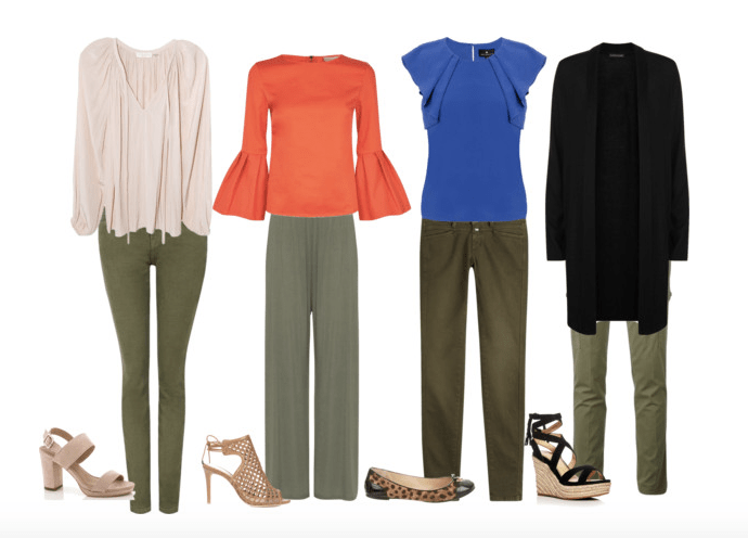 What to Wear with Olive Green