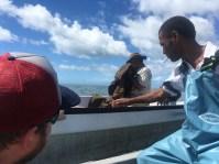 Transferring boats