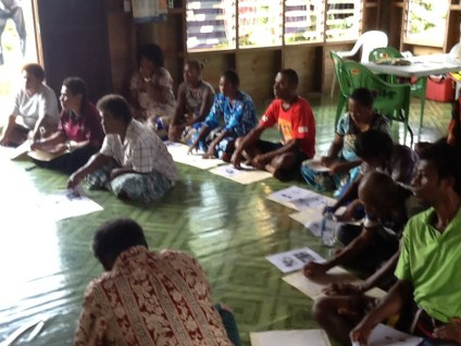 Participants at the 1st Basic Beekeeping workshop