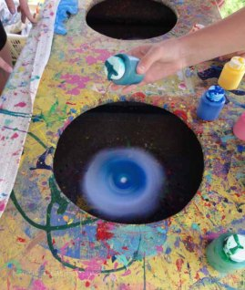Spin art!