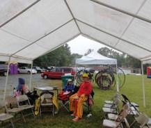 Lion's Club tent.