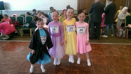 Lauren,Ala,Amy and Daniela - dance pals !