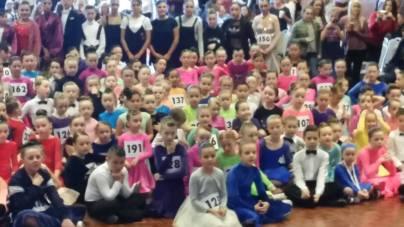 The amount of dancers was unbelievable !