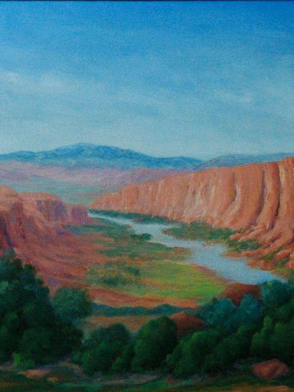 A Flowing Creek