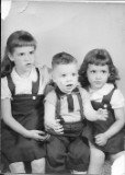 sherry, ken, me as kids