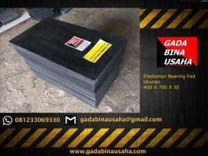 Elastomer Bearing Pad 400 X 700 X 50