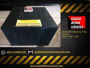 Elastomer Bearing Pads 480 X 300 X 100