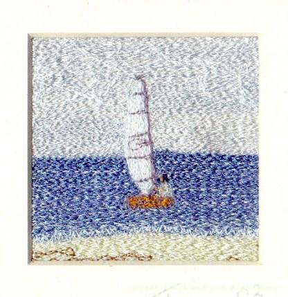 Skiff Freehand machine embroidery using landscape images to create amazing wall art – Tamara Russell – Karhina.com