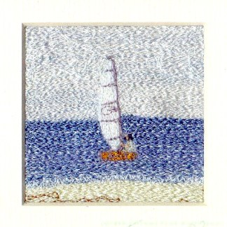Skiff Freehand machine embroidery using landscape images to create amazing wall art – Tamara Russell – Karhina.com