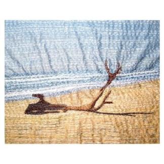 Driftwood - Freehand machine embroidery by Tamara Russell – Karhina.com