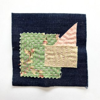 Hand stitched patches by Karhina.com