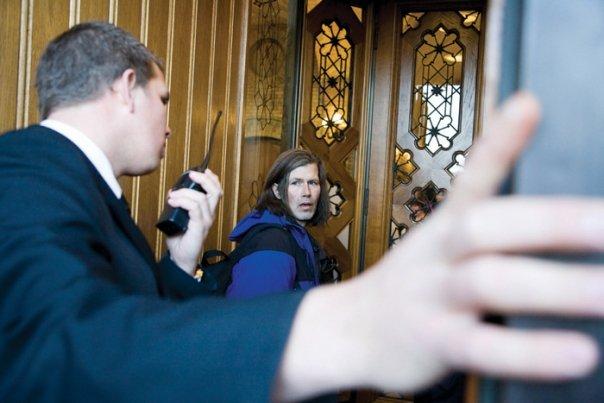 18. november 2008 slapp Oslos rusavhengige inn på Stortinget.