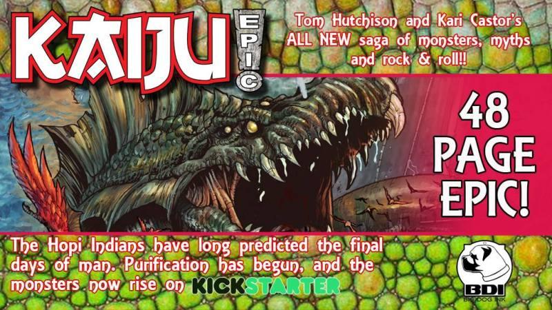 Help Kickstart Kaiju Epic!