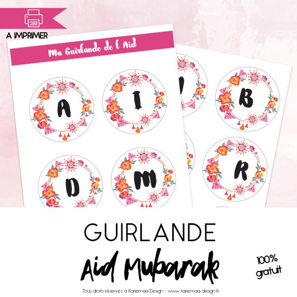 Guirlande Aid Mubarak
