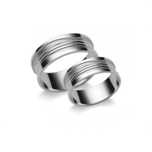 Fehérarany Karikagyűrű N3